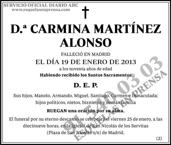 Carmina Martínez Alonso